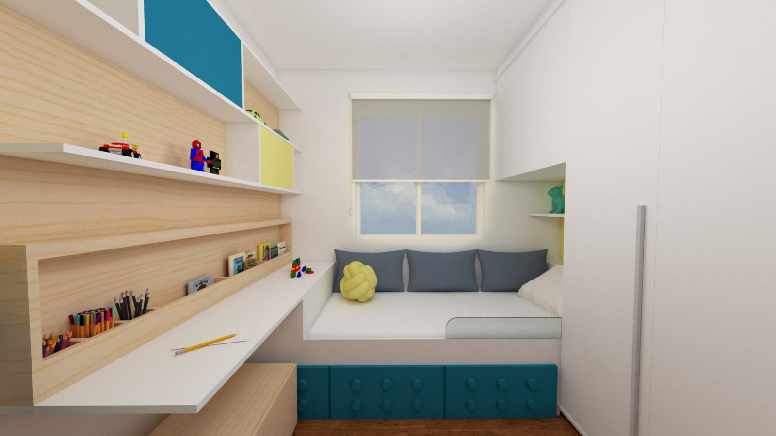 arquiteto online - quarto de menino