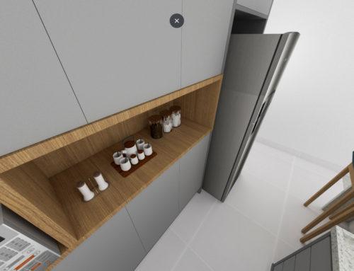 Projeto Online de Arquitetura – Cozinha / Lavanderia